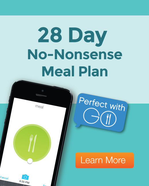 Meal plan blog side banner
