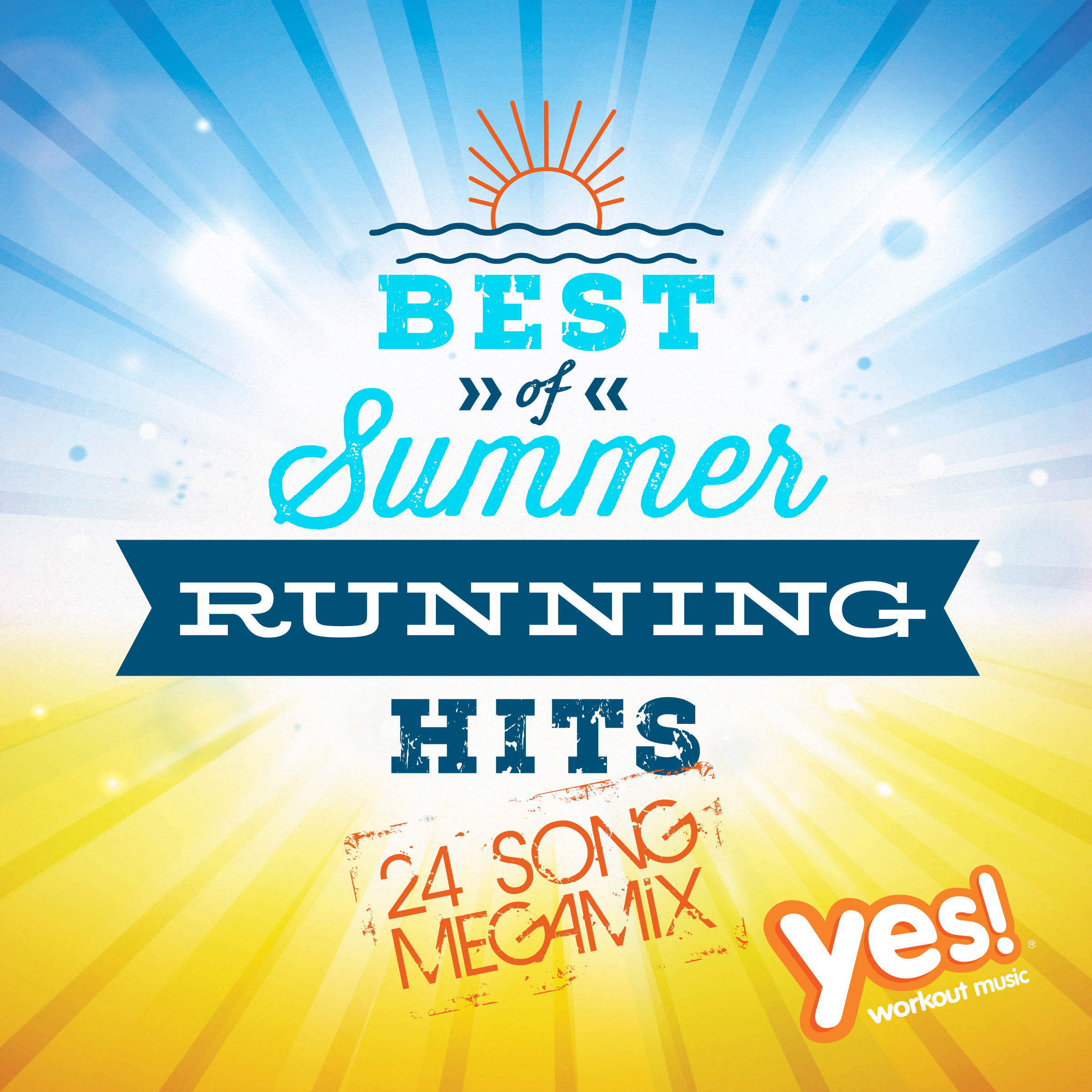 Yes bestsummerrunninghits 2400x2400