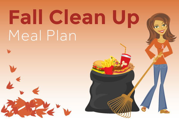 Fall clean up small banner